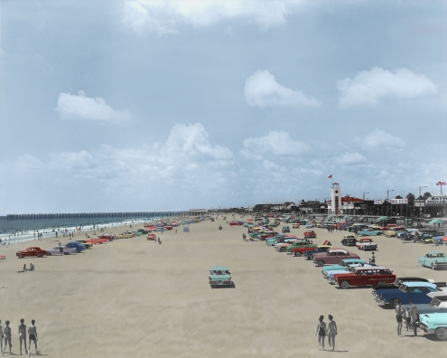 Restored Jax Beach 1960's