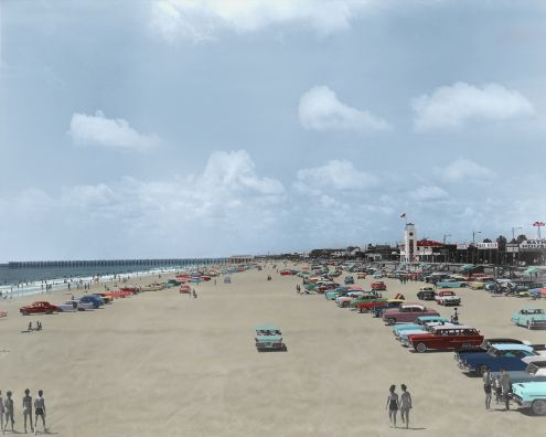 Restored Jax Beach 1960's