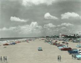 Jax Beach 1960's - Restored Color Details