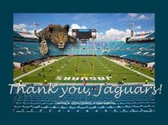 Thank you, Jaguars!