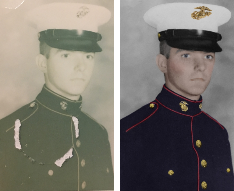 Marine John Boot Camp Before & After